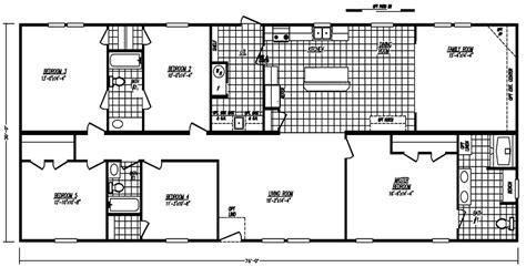 5 bedroom mobile home floor plan my dream house in 2019
