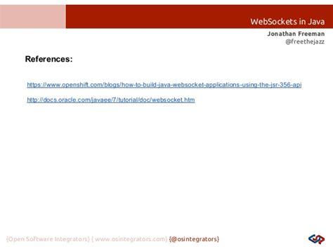 tutorial java websocket intro to websockets in java