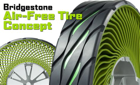 Bridgestone Airless Tires by Bridgestone Air Free Tire Concept Airless Tire Concept