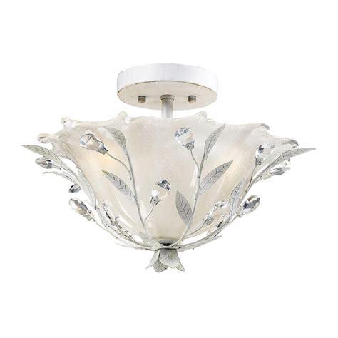 antique 2 light semi flush kitchen ceiling lights titan lighting circeo 2 light antique white ceiling semi