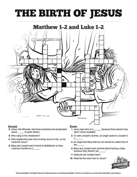 sunday school lessons on the teachings of jesus chiefly on the sermon on the mount and the parables classic reprint books the birth of jesus sunday school crossword puzzles this