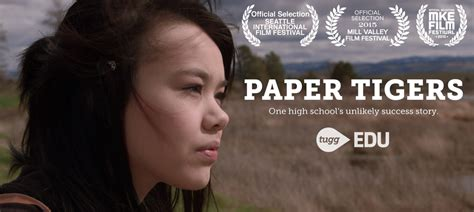 Paper Tiger paper tigers educational version now available on dvd or