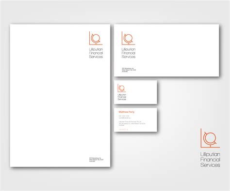 Au Finance Letterhead 28 upmarket financial letterhead designs for a