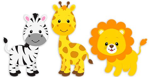 Car Wall Stickers For Boys safari zebra giraffe and lion