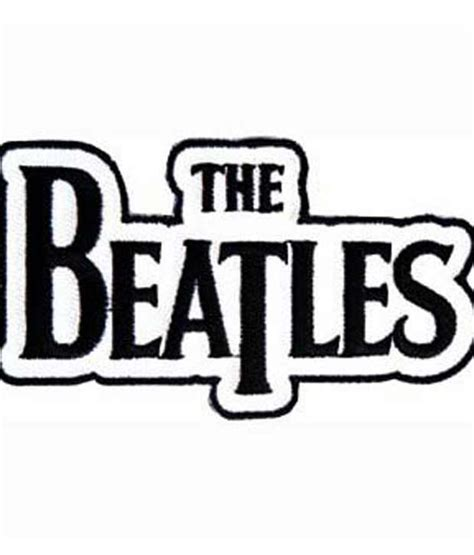 Hdfc Bank Letterhead With Logo The Beatles Name Logo Iron Or Sew On Patch P1121 Buy At Best Price In India Snapdeal