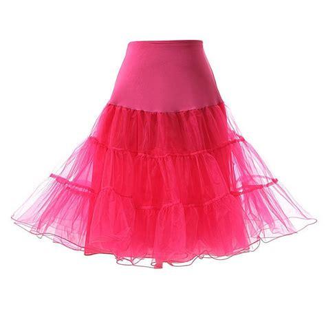 swing petticoat 26 5 quot retro underskirt 50s swing petticoat rockabilly tutu
