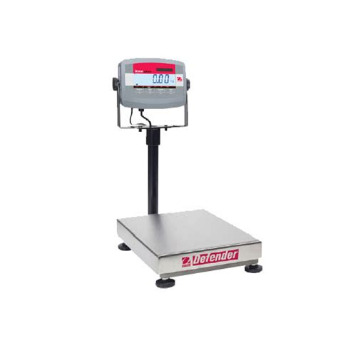 ohaus bench scale ohaus d31p60br defender 3000 bench scale capacity 60kg