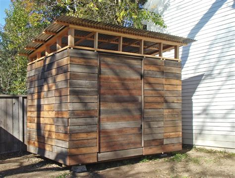 Reclaimed Wood Shed by 2 Weeks 2 000 1 Savvy Storage Shed