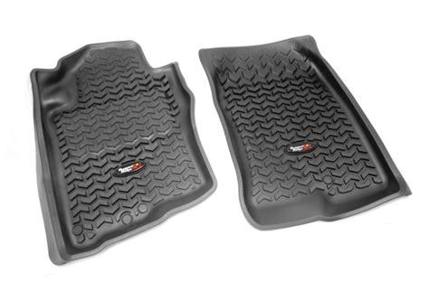 2005 Nissan Pathfinder Floor Mats by Rugged Ridge All Terrain Floor Liners Front Pair Nissan