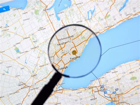map to location how to find your location history map business