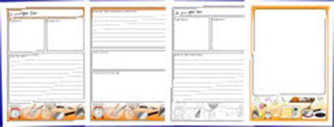 card writing template ks1 writing frames and printable page borders ks1