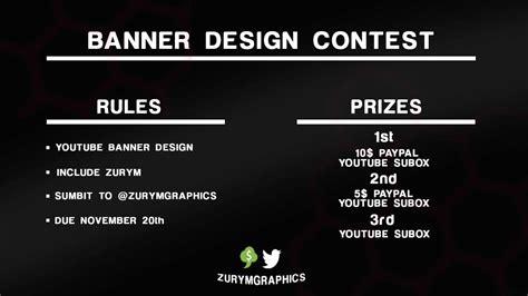 design contest money banner design contest money prize youtube