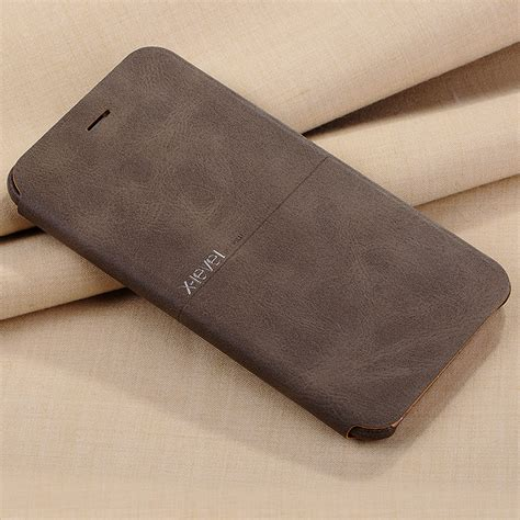 Ultra Slim Pu Leather Flip Phone Cover For Samsung Galaxy x level luxury cowboy ultra thin nostalgia pu leather flip phone for iphone 6 6s stand