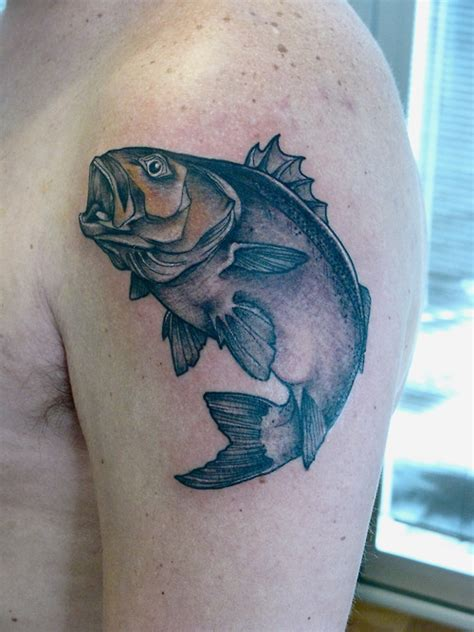 bass fish tattoo bass fish tattoos archives tattoou