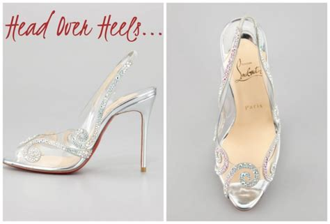 Clear Wedding Shoes by Christian Louboutin Clear Wedding Heels Shoes Fit For A
