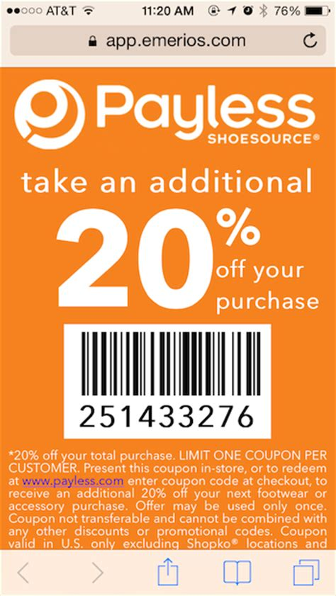 payless shoe source coupon payless shoesource launches sms marketing caign tatango