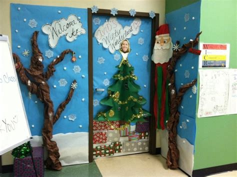 Home Decor Competition by Office Christmas Door Decorating Contest Winners Office