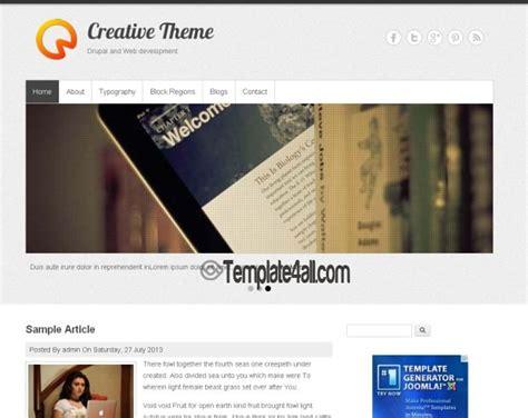 drupal themes portfolio free creative portfolio drupal 7 theme download