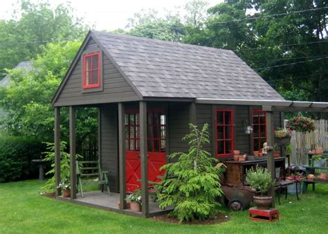 Sheds With Porches Design by New Ideas Garden Shed With Porch Plans Nappanee Home And Garden Club Garden Sheds Porches