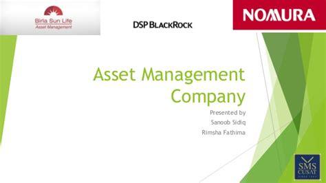 Jp Asset Management Mba by Asset Management Company