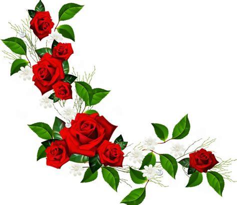 flores gif animados buscar  google rose clipart