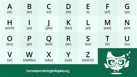 imagenes en ingles del alfabeto abecedario en ingles con pronunciaci 243 n y trucos para