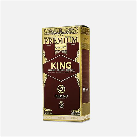 King Coffee organic king of coffee ganoderma coffee sachets