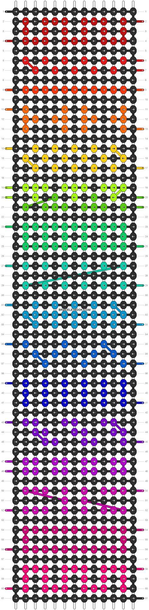 tribal pattern tutorial 17 best images about friendship bracelet patterns on