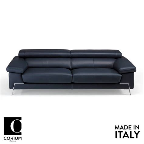 home leather sofa blunote leather sofa by corium italia om furniture