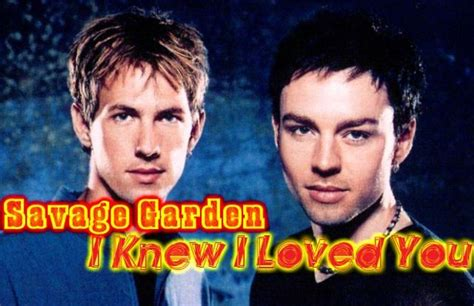 I Knew I Loved You By Savage Garden by Savage Garden I Knew I Loved You Album Images