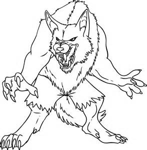 Wolfman Coloring Pages coloring pictures coloring home