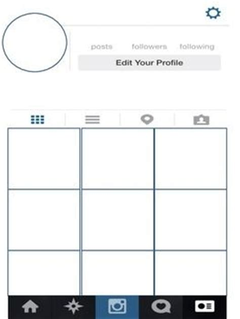 bio layout template instagram activities instagram and student on pinterest