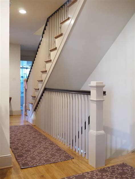 open stair to basement home design ideas renovations photos