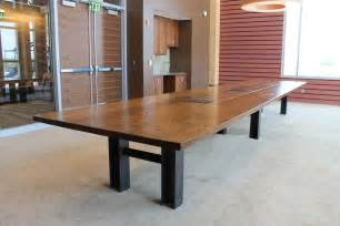Oak Meeting Table Made Reclaimed Oak Custom Conference Table By Cornerstone Furniture Custommade