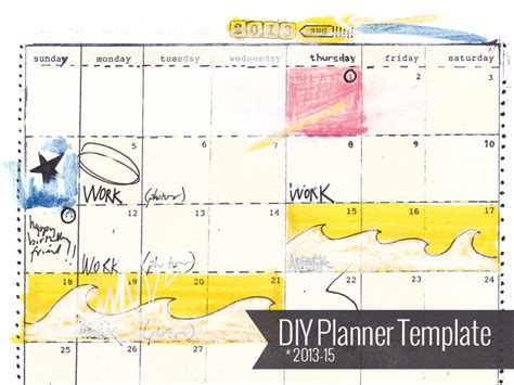 do it yourself planner templates do it yourself planner templates calendar template 2016