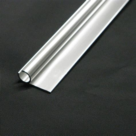 Aluminum Awning Track by Anodized Aluminum Awning Trailer Molding Track 20 Length