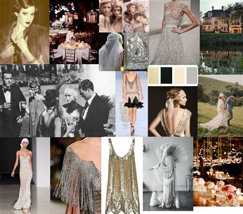 tone and theme of the great gatsby 2015 wedding renewal on pinterest headpieces claire