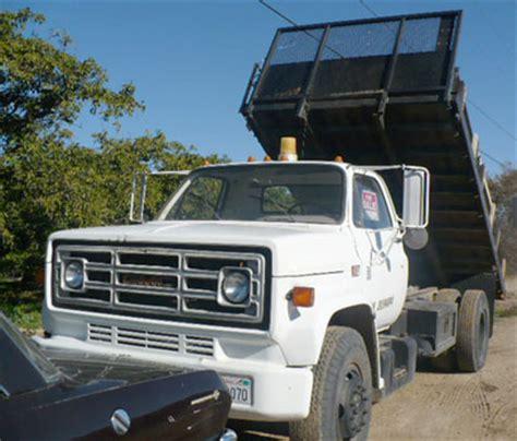 gmc dump truck parts 1985 gmc 7000 dump truck