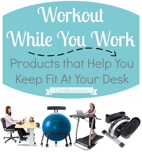 products that help you exercise at your desk