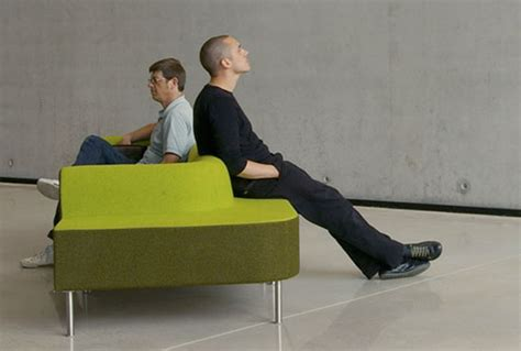 double sided sofa kensington design duo sofa by fred rieffel