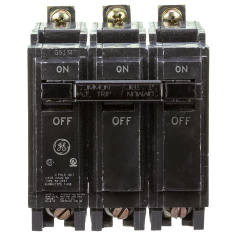 80 Circuit Breaker Price by Ge 60 Three Pole Bolt On Breaker Thqb32060 The Home