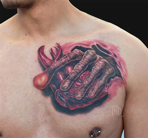 et tattoo et by mike devries tattoos