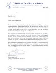Lettre De Recommandation Volontariat Lettres De Recommandation Carolinade