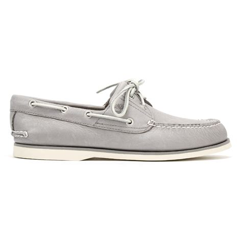 timberland gray boat shoes timberland mens grey boat shoes classic 2 eye design