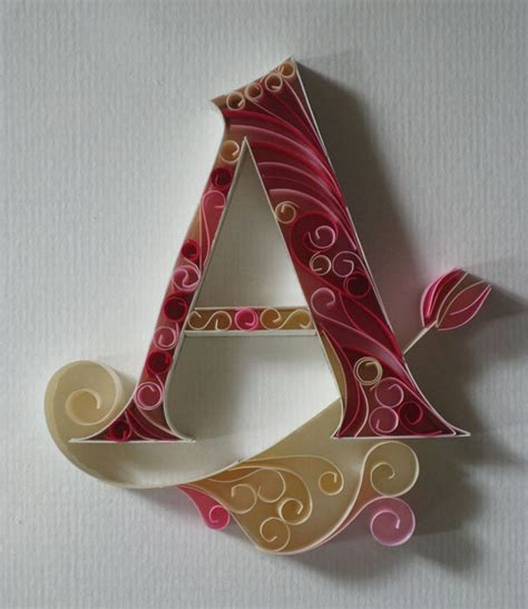 quilling alphabet tutorial an alphabet of ornate quilled typography