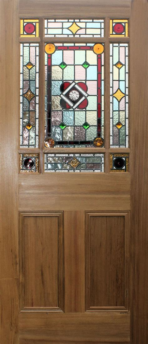 Stained Glass Interior Doors New Stained Glass Doors In Edwardian And Styles Homesfeed