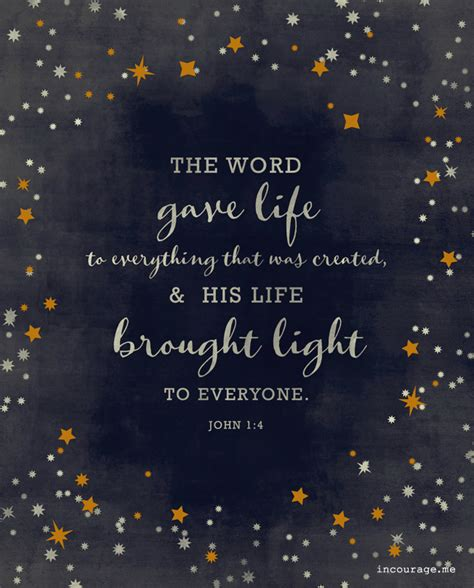 the light shines through a story of in the midst of suffering books the word gave to everything that was created and his
