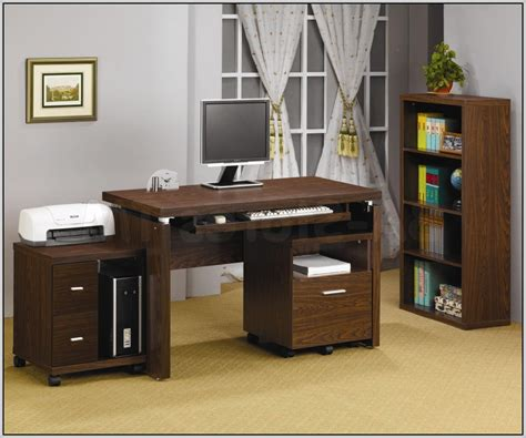 computer desk with printer storage computer desk with storage for printer desk home