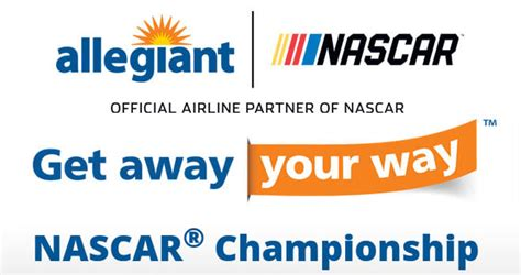 Nascar Playoff Sweepstakes - allegiant air get away your way nascar chionship sweepstakes allegiantsweepstakes