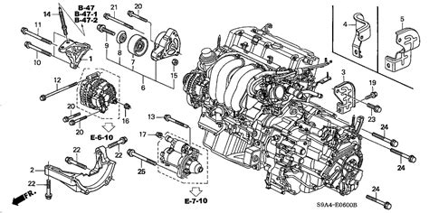 2001 honda crv parts diagram 2001 honda crv engine diagram automotive parts diagram